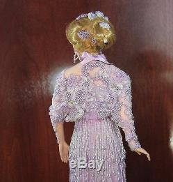 Vintage LADY AMETHYST By Rustie 20 Porcelain Doll #172 of 2000 World Wide