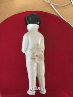 Vintage Large Porcelain Bath doll frozen charlotte doll marked