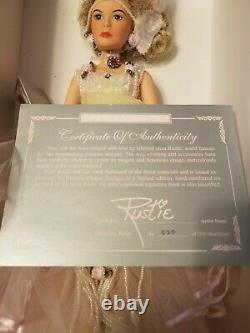 Vintage Limited Edition With Love Rustie Dazzling Rose #412470 Original Package
