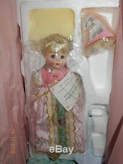 Vintage Madame Alexander for Danbury Mint Porcelain 9 Rapunzel Doll NRFB
