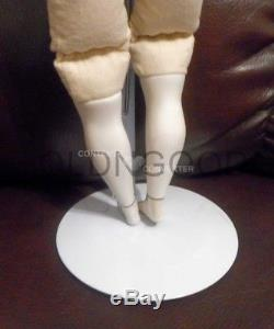 Vintage Marked Emma Clear Parian Doll 18 Inches Tall'47