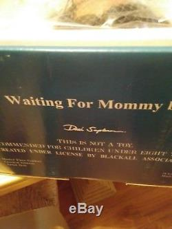 Vintage Master Piece Gallery Doll WAITING FOR MOMMY African Anerican