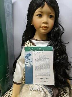 Vintage Master Piece Melati 33 Porcelain Doll. 386/1500. Newithoriginal packaging