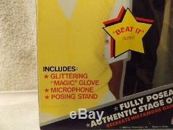 Vintage Michael Jackson Action Figure-12 Tall Doll-1984-mjj Productions