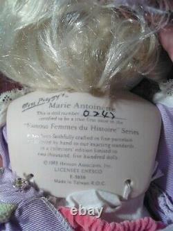 Vintage Miss Piggy Marie Antoinette Doll 1983. Marked 0242 Out Of 2500