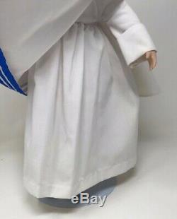 Vintage Missionary of Charity Catholic Nun Doll 17 Porcelain Doll Mother Teresa