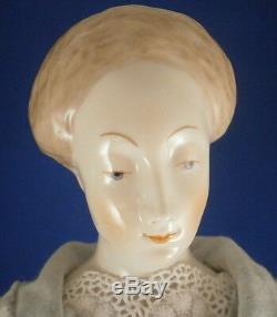 Vintage Nymphenburg Porcelain China Head Doll Figurine Figure Porzellan Puppe