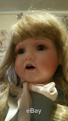Vintage Patricia Loveless Reproduction Of French Jumeau Porcelain Doll Adelle