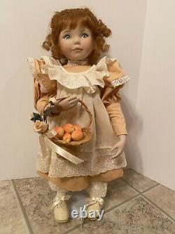 Vintage Peaches And Cream Ashton Drake Porcelain Doll