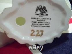 Vintage Peggy Nisbet Doll #P1953 Coronation QUEEN ELIZABETH II #227/5000