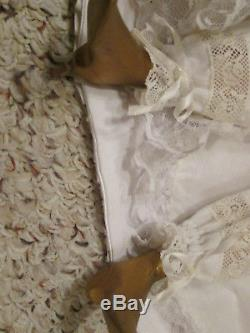Vintage Porcelain Bisque French Regency Fashion Doll made by Maggie Head Kane