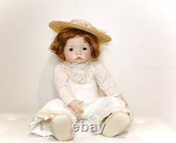 Vintage Porcelain Doll 1988 Collectable Sweetness By Dianna Effner