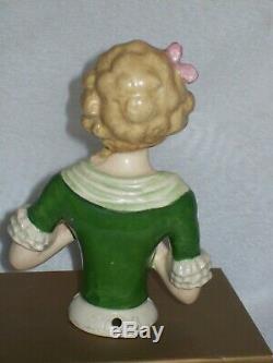 Vintage Porcelain Goebel Half Doll (12A)