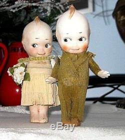 Vintage Porcelain O'Neill Kewpie dolls