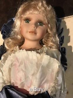 Vintage Porzellan Puppe