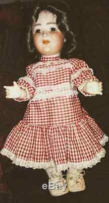 Vintage Princess Elizabeth All Bisque/Porcelain Doll By Schoenautt & Hoffmeister