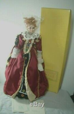 Vintage Queen Elizabeth 1 Porcelain Doll Destiny Dolls DA669 LE 90/950 NIB