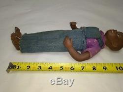 Vintage Rare Nicodemus Clay/Porcelain African Americana Boy Doll Head & Kane Inc