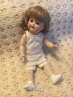 Vintage Repro Of Antique Bisque Doll Ceramic Armand Marseille Germany 996