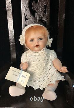 Vintage Reproduction of Antique 6 Porcelain Doll Kestner Hilda Berdine Wyffels
