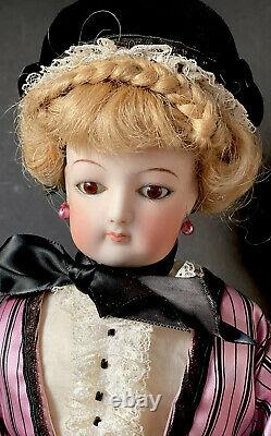 Vintage Reproduction of Antique French 20 Fashion Doll Porcelain Head