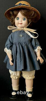 Vintage Reproduction of JDK 221 Ges Gesch Googly Eyes 13 Porcelain Doll
