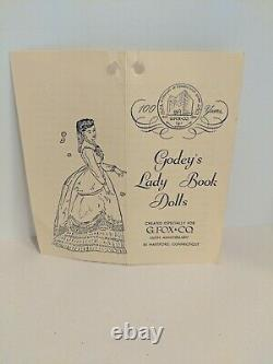 Vintage Ruth Gibbs Godey's Lady 13 Blonde Hair China Doll + McCall Pattern 1292