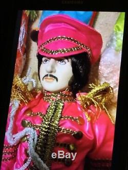 Vintage Sgt. Pepper Starshine Beatles Porcelain Dolls. 4 Dolls with coas boxes
