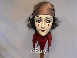 Vintage Sir Cedric's Good Heads Porcelain Clown Jester 1983