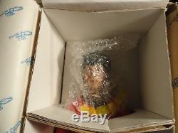 Vintage Star Trek Hamilton Ernest Uhura Porcelain 14 Doll, Box, Coa (mint)