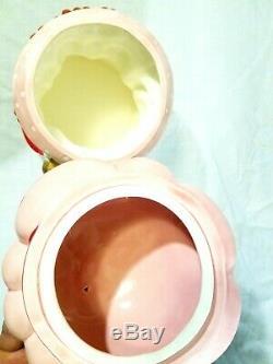 Vintage Strawberry Shortcake 1983 Ceramic Cookie Jar