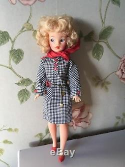 Vintage Tammy Doll Beautiful Blonde Curls (Outfit/clothes Not Included)