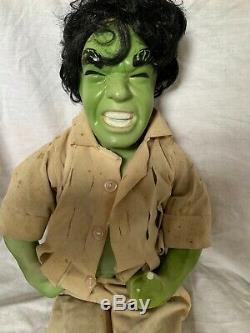 Vintage The Hulk Porcelain Action Figure Doll Foreign Unbranded Knock Off 19