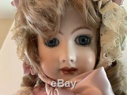 Vintage Victorian Doll Bisque Porcelain