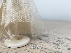 Vintage Wedding Party Cake Topper Bride Groom Dolls Crepe Paper Celluloid 1930's