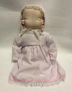 Vintage Weird Creepy Three Face Porcelain Doll Swivel Head