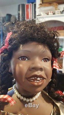 Vintage doll mary van osdell child african american 24 pamela erff