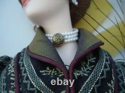 Vintage franklin mint heirloom doll 22 in box gibson girls anna roman holiday