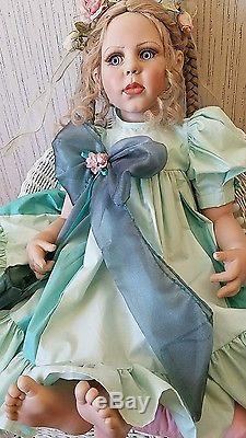 Vintage porcelian doll pre 1980