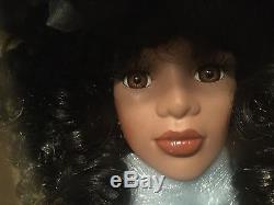Vintage1930s Collectors Choice African American Bisque Porcelain Doll 16 Rare