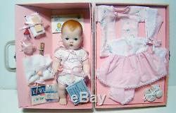 Vtg Danbury Mint Tiny Tears Doll withCase Outfits More Special Edition Porcelain