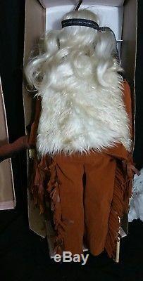 Vtg Goldendale 35 Native American Indian Elders WANOA & HENRY Porcelain Dolls
