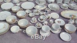 Vtg LOT OF 168 Porcelain Mini & Large DOLL Children's Tea Party Tea Time Sets