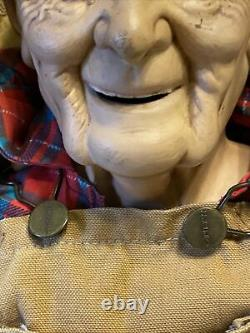 William Wallace 31 Specialty Model & 34 1989 Porcelain Elderly Dolls Pre Owned