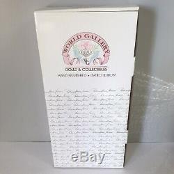 World Gallery Porcelain Doll Patricia Loveless Monica Ann New in Box 14'