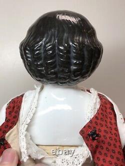16,5 Antique Porcelaine Allemande Chine Tête Contag Boheme 1880-1890 Haut Brow #un