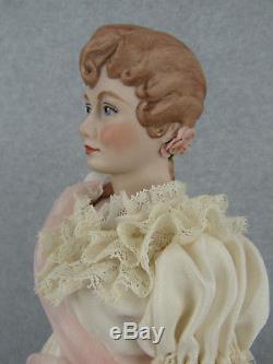 17 Poupée D'artiste Fawn Zeller En Porcelaine Vintage Angela Ufdc Convention Doll 1962
