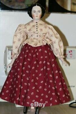 1940 Vintage Tête Emma Effacer Doll Sur Le Nouveau Corps