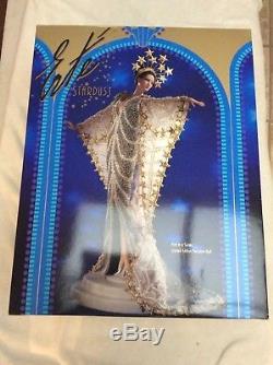 1995 Erte Stardust Vintage Barbie Porcelaine Avec Expéditeur # 10993