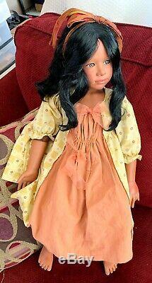 1998 Le Masterpiece Doll Jasmine 26 Withheavy Support En Métal Afro-américain Rare